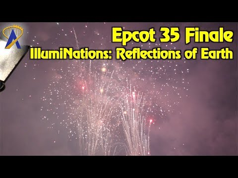 Special Epcot 35 Finale to IllumiNations: Reflections of Earth