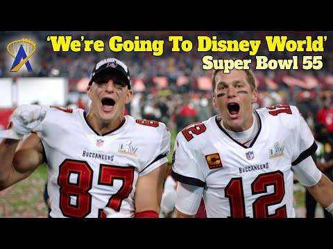 Super Bowl 55 – Tampa Bay Buccaneers Tom Brady And Rob Gronkowski Are 'Going to Disney World'