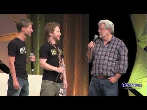 George Lucas Surprise Appearance at Star Wars Celebration VI - Detours panel