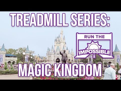 Walt Disney World Magic Kingdom Treadmill Workout Full Park Steady Walkthrough