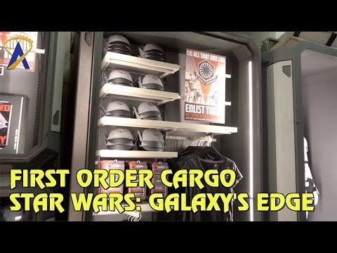 First Order Cargo merchandise shop in Star Wars: Galaxy's Edge