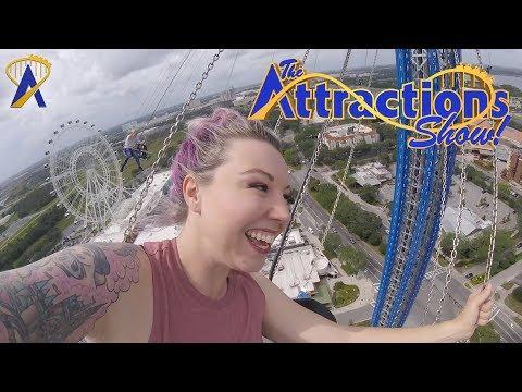 The Attractions Show! - Orlando StarFlyer; LEGO Deep Sea Adventure construction; latest news