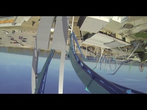 Cedar Point Gatekeeper POV - First-person view of the new roller coaster