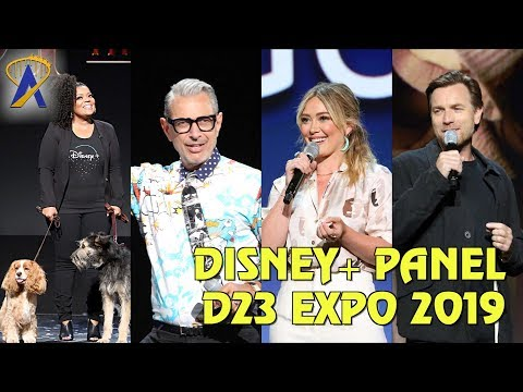 Disney+ Panel Highlights from D23 Expo 2019