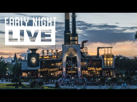 Early Night Live: Universal CityWalk & Toothsome