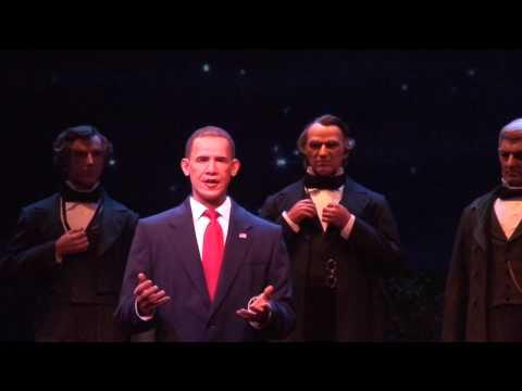 Disney Hall of Presidents update with Obama animatronic