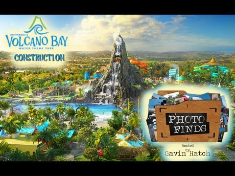Photo Finds - 'Volcano Bay Construction' - Aug. 16, 2016