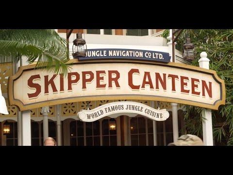 Inside the Jungle Skipper Canteen restaurant at Disney's Magic Kingdom