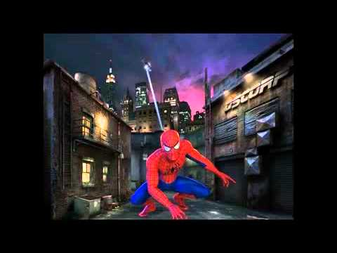 Scene from re-animated Spider-Man ride at Universal's Islands of Adventure