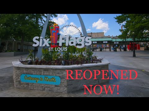Six Flags St Louis - Reopening