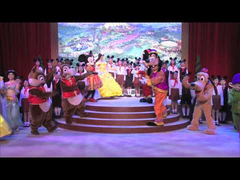 Shanghai Disney Resort announcement and groundbreaking
