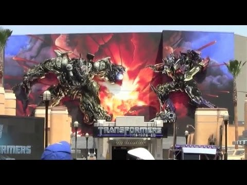 Transformers: The Ride - 3D at Universal Studios Hollywood