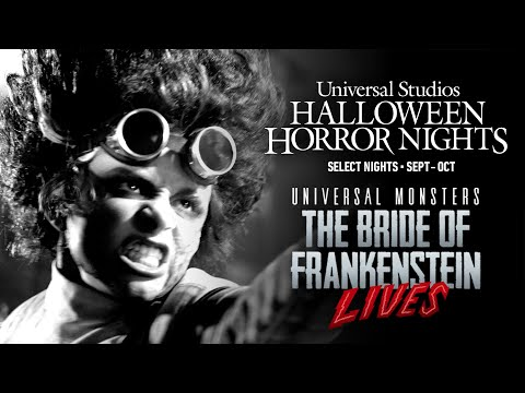 Universal Monsters: The Bride of Frankenstein Lives | Halloween Horror Nights 2021