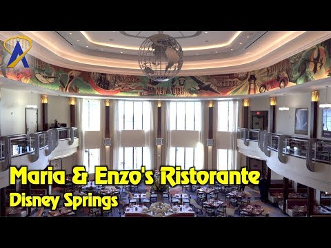 Maria & Enzo's Ristorante tour at Disney Springs