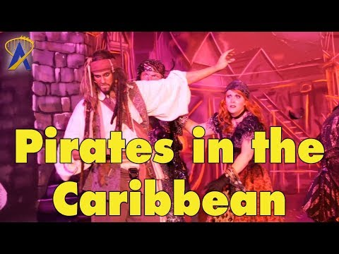Pirates in The Caribbean Show and Fireworks on the Disney Dream Cruise