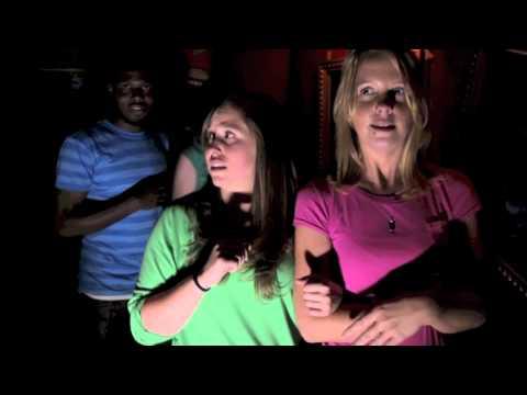 Girls scream their way through Howl-O-Scream 13 Haunted Houses at Busch Gardens
