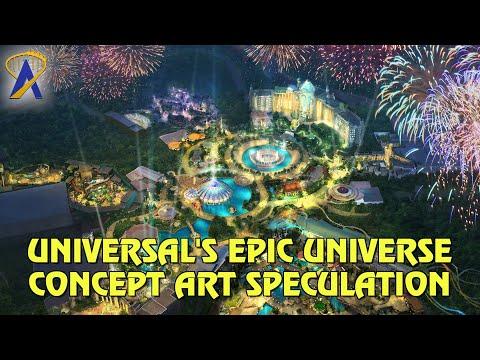 Analyzing Universal's Epic Universe Concept Art