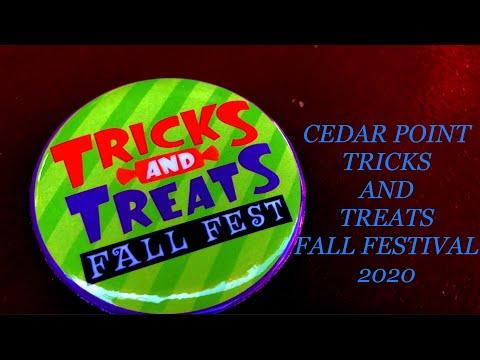 Cedar Point Tricks AND Treats Fall Festival 2020
