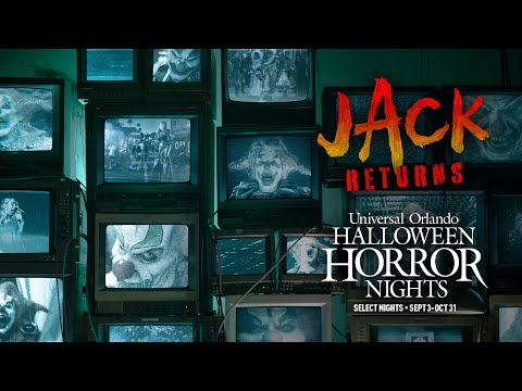 Jack the Clown Returns to Halloween Horror Nights
