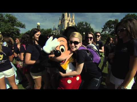 Miss America 2011 contestants visit Mickey, Minnie, Belle and Cinderella at the Magic Kingdom