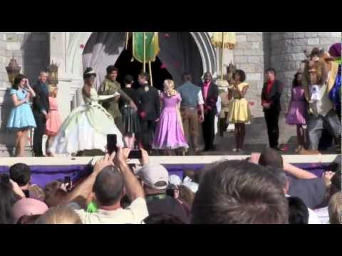 New Fantasyland Grand Opening Ceremony with a performance by Jordin Sparks