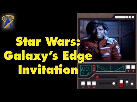 Media Invite to Star Wars: Galaxy's Edge at Disneyland