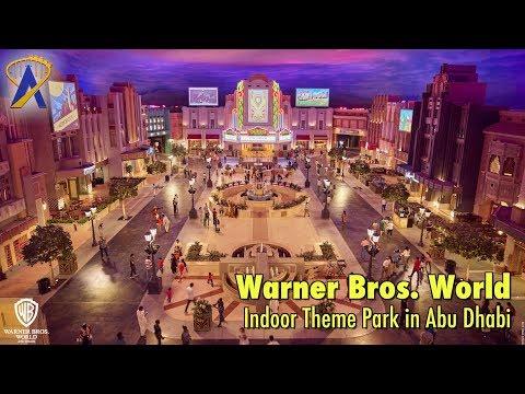 Warner Bros. World indoor theme park now open in Abu Dhabi