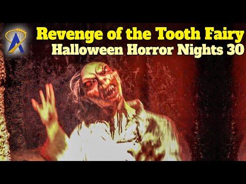 Revenge of the Tooth Fairy Walkthrough - Halloween Horror Nights 30 - Orlando