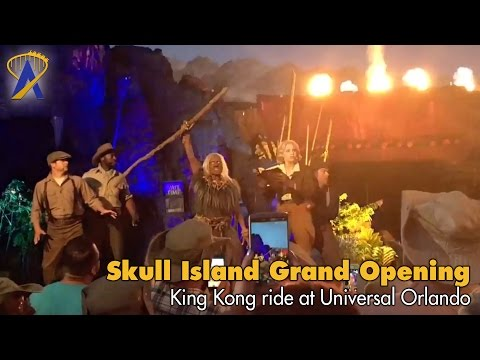 Skull Island: Reign of Kong Opening Moment for Passholders at Universal's Islands of Adventure