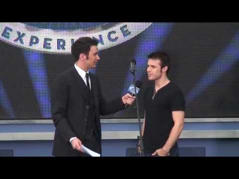 American Idol Kris Allen answers questions at Disney World