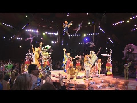 Full Final Festival of The Lion King show in Camp Minnie-Mickey at Disney's Animal Kingdom
