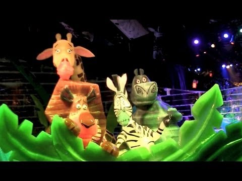 Ice! Merry Madagascar at Gaylord Palms Resort 2012