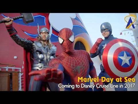 Marvel Day at Sea coming to Disney Cruise Line's Magic ship in 2017