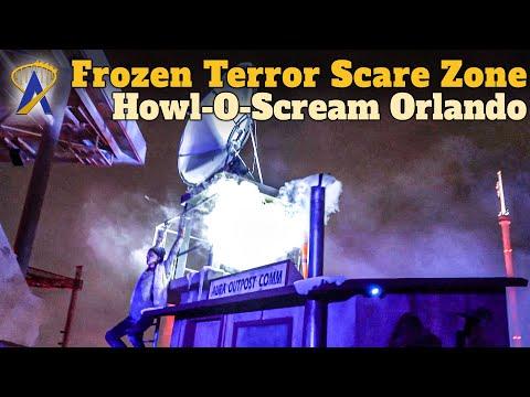 Frozen Terror Scare Zone at Howl-O-Scream Orlando