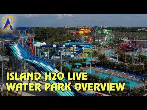 Overview of Island H2O Live Water Park at Margaritaville Resort Orlando