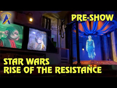 Resistance Base Pre-Show - Star Wars: Rise of the Resistance at Star Wars: Galaxy's Edge