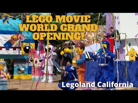 Lego Movie World Grand Opening at Legoland California