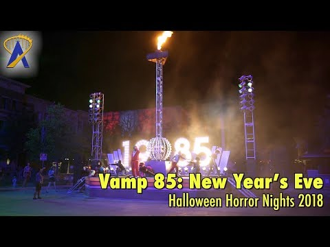 Vamp 85: New Year's Eve Scare Zone at Halloween Horror Nights 2018