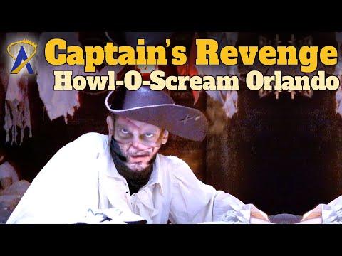 Captain's Revenge Haunted House Full Walkthrough – Howl-O-Scream Orlando