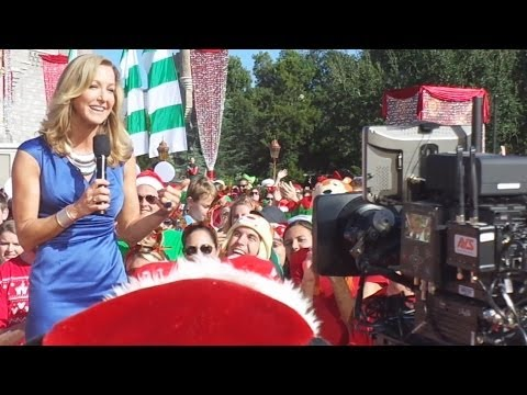 Highlights from day one of filming for the 2013 Disney Parks Christmas Day Parade