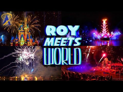 Every Disney Nighttime Spectacular Challenge - Roy Meets World