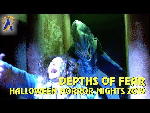 Depths of Fear highlights from Halloween Horror Nights Orlando 2019