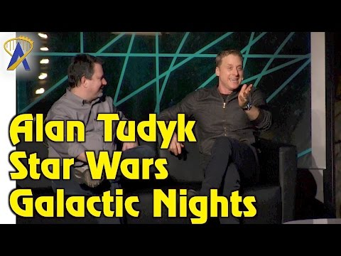 Alan Tudyk talks K-2SO, voicing Disney characters and more during Star Wars Galactic Nights