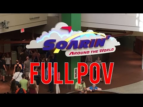Full Soarin' Around the World POV on Opening Day at Epcot