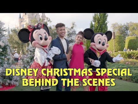 Disney Parks Magical Christmas Day Parade 2018 - Behind the Scenes