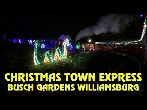 Christmas Town Express - Full Ride at Busch Gardens Williamsburg