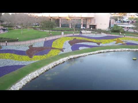 Epcot International Flower & Garden Festival for 2010 at Walt Disney World in Orlando, Florida