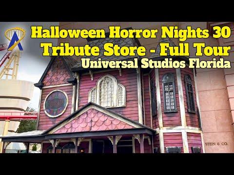 Universal Orlando's Incredible New Halloween Horror Nights 30th Anniversary Tribute Store