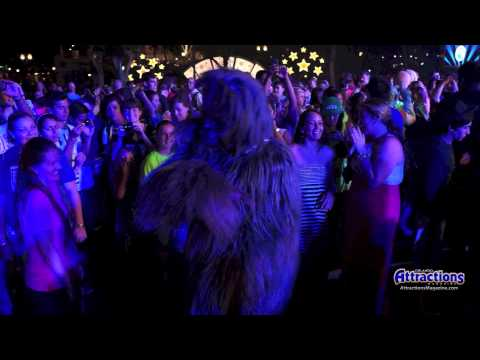 Give the Wookiee room to dance - Star Wars party at Disney's Hollywood Studios