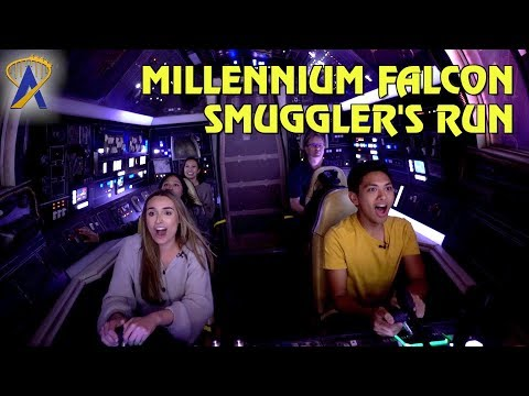 FIRST LOOK at Millennium Falcon: Smugglers Run - Queue, Pre-Show and Ride Experience